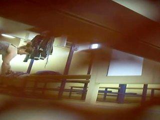 fun voyeur scene, great hidden cam scene, locker room