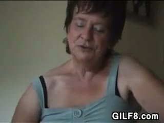 Dominating Granny Wants Him To Lick Her Pussy