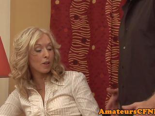 MILF Babe Enjoying CFNM Fun in Closeup, Porn dc