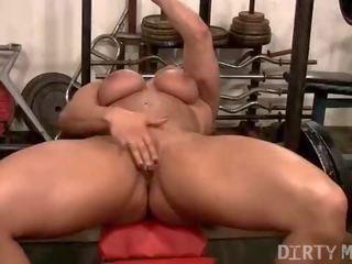 fbb tube, free female muscle vid, real female bodybuilder thumbnail