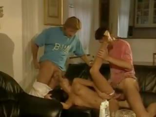 Classic Foursome: Free Cheating Porn Video e0