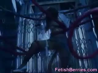 plezier bizar, nominale fetisch klem, controleren unusual video-