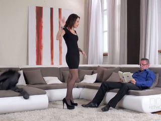 热 和 角质 上 性别 - 色情 视频 911