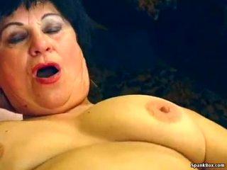Sexy bà nội gets fucked lược trong restaurant
