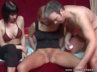 milfs porno, zien trio actie, groot anaal neuken