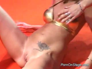 fun blondes scene, most dance movie, free lezzy
