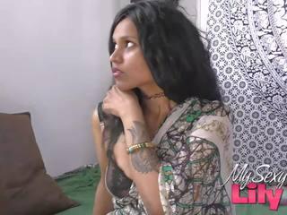 Horny Lily Indian Bhabhi Fucked by Her Dewar: Free Porn bf