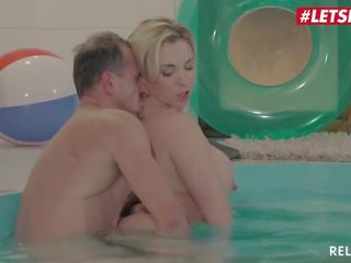 Letsdoeit - Busty Mommy Has Rough Sex at the Pool