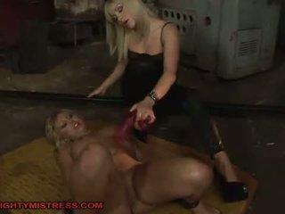 bdsm, hogtied seks, slavernij film