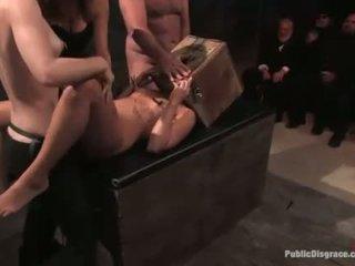 Kinky fantasy of hooker bound