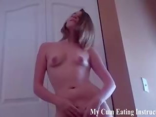 Eat Your Cum up Like a Naughty Boy CEI, Porn ed