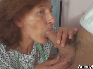 Clothed 70 Years Old Granny Rides Young Dick: Free Porn eb