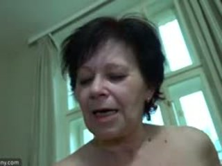 OldNanny Plump Mature And Pretty Teen Is Playing With Strapo