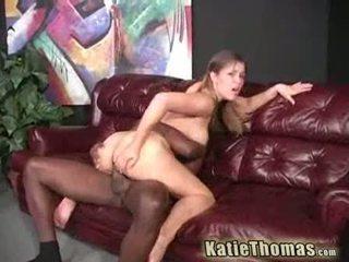 Huged boobed katie thomas getting blackened