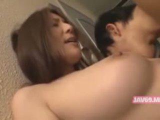 große brüste, baby, koreanisch