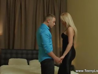 Teeny Lovers - Alexa - Blonde Taking Pussy Cumshot