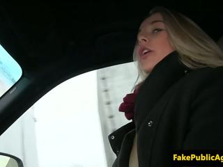 Pickedup Amateur Eurobabe Slammed on Backseat: Free Porn 17