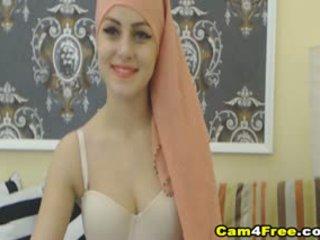 Můj krásný muslim soused strokes ji hračka