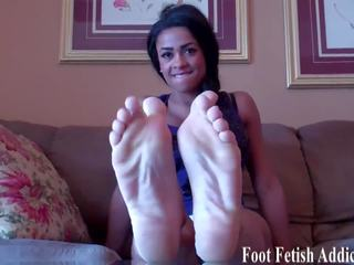 kijken voet fetish thumbnail, zien femdom, pov tube