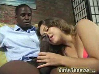 Katie gets slammed द्वारा एक ब्लॅक guy