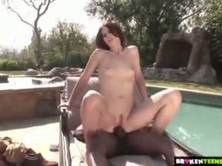 free brunette ideal, real young best, any deepthroat any