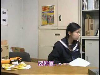 schoolmeisjes, hardcore, aziatisch
