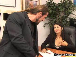echt große brüste mehr, große titten, mehr büro hq