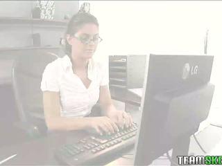 TeamSkeet Hot brunette Derancesca Gallardo teen an
