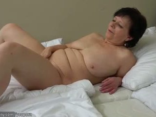 I vjetër sexy moshë e pjekur, i vjetër moshë e pjekur masturbate me vibrator