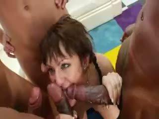 group sex, anal, gangbang