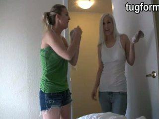 Sister और गोरा busting आप jacking बंद jo instructions