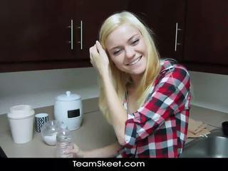 Shesnew schlank blond teen chloe fördern pov homema