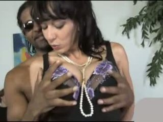 Alia Janine fucks a BBC to punish her son