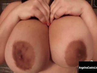 echt brunette kwaliteit, grote borsten groot, plezier masturberen