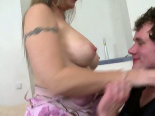 Hot Mother Suck and Fuck Her Young Lover, Porn 7f