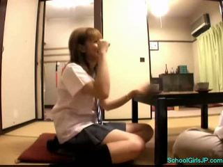 ideaal student scène, jong neuken, kijken japanse scène