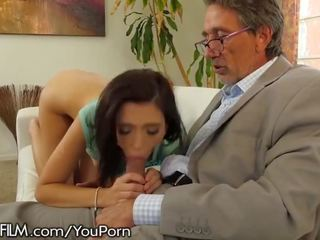 Devilsfilm Slutty Teen Been Hooking Up With Grandpa's Friends!