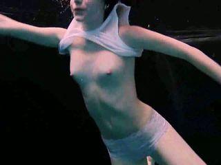 ideaal roodharigen seks, hq zwembad, underwater porno