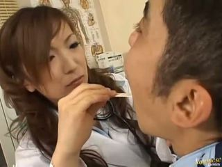 Asian getting a rod