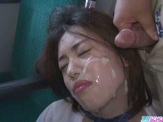 女學生 yuna satsuki 亞洲人 口交 和 公 他媽的