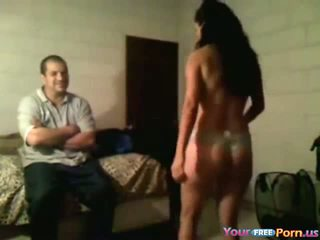 Drunk Chick Gets Naked In Front Of Husbands Friend