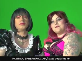 Sextape Germany - Kinky Fetish Fuck with Crossdressing