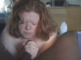 BBW Interracial Blowjob, Free BBW Blowjob Porn 69