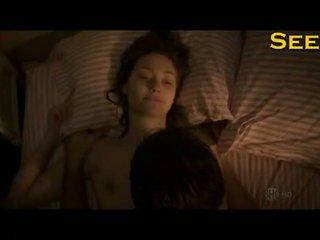 Emmy Rossum Hot Tits In Sex Scenes