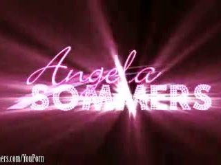 Angela Sommers fingering asshole