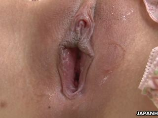 Adorable Asian Babe Toy Fucking Her Soaking Wet Cunt.