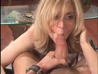 Nina Hartley horny for young stud