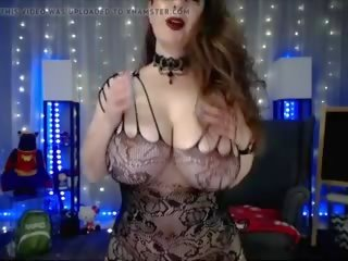 Emo Strip - Huge Boobs Beauty Dance Strip Tease: HD Porn 87