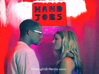 12 Inches Milked In The Handjob Booth