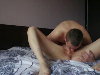 zien brunette porno, een orale seks scène, kwaliteit vaginale sex scène